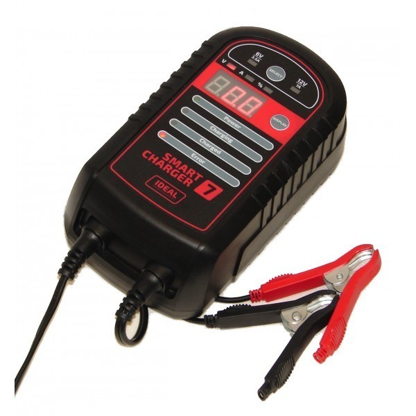 IDEAL - ŁADOWARKA 6/12V SMART CHARGER 7